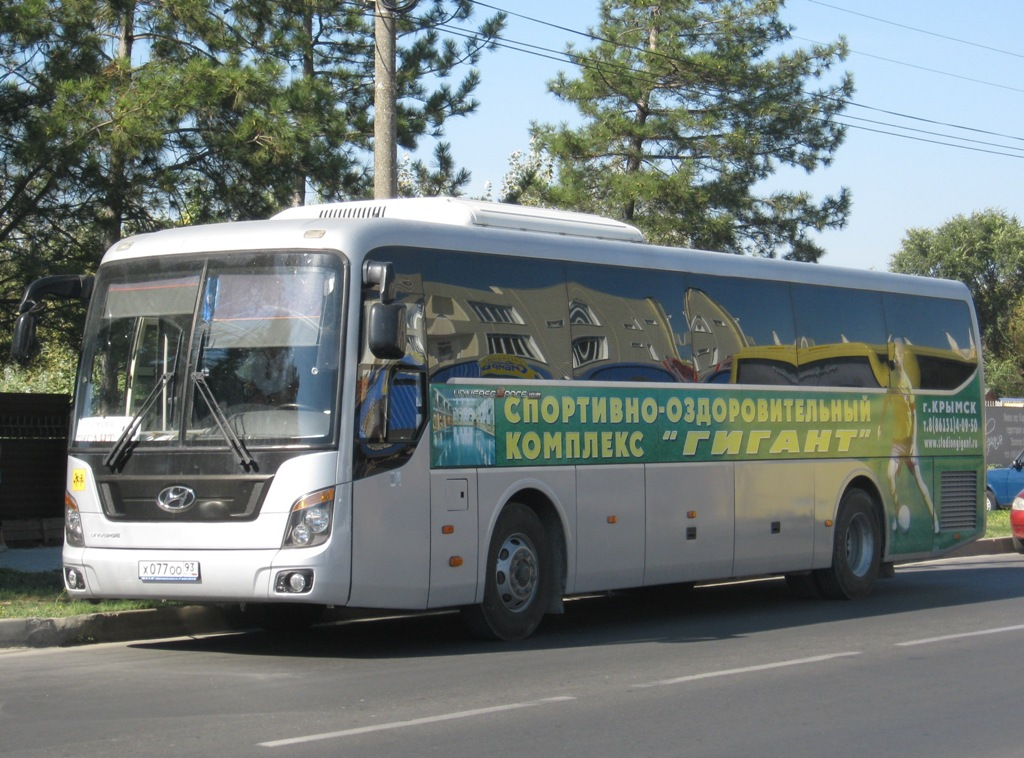 Анапа. Hyundai Universe Space Luxury х077оо
