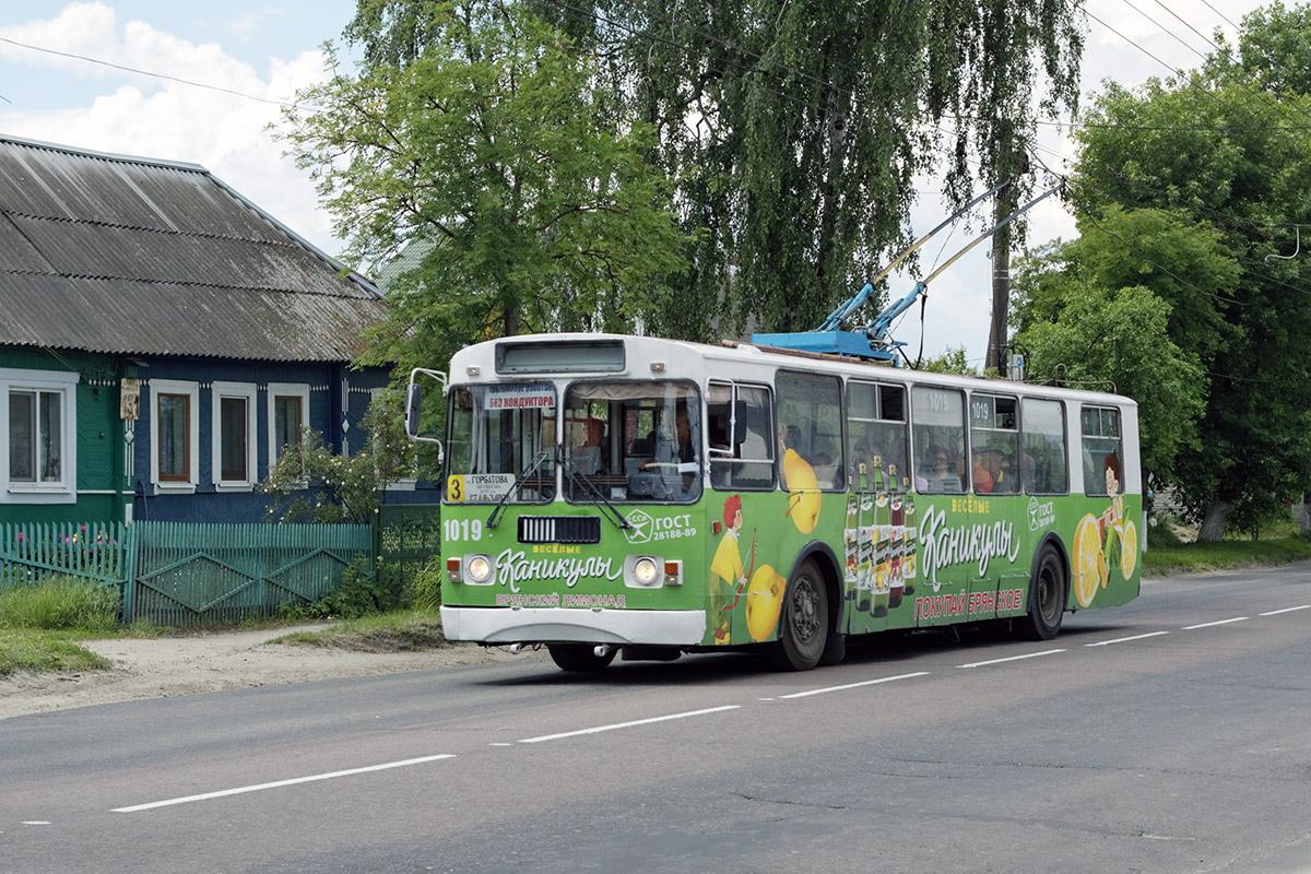 Брянск. ЗиУ-682Г-016 (012) №1019