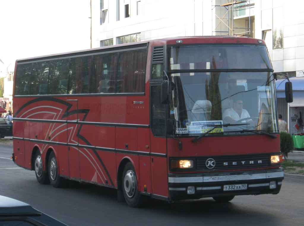 Анапа. Setra S215HDH т332ха