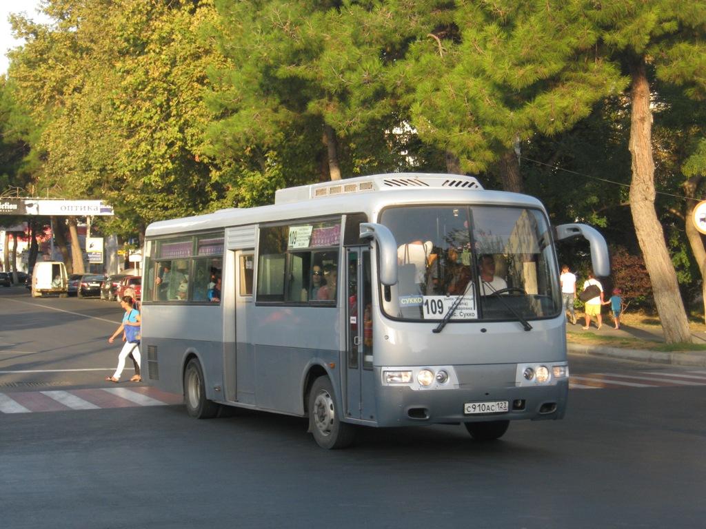 Анапа. Hyundai AeroTown с910ас