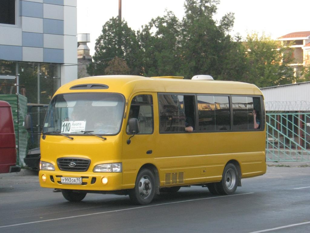 Анапа. Hyundai County Super у993оа