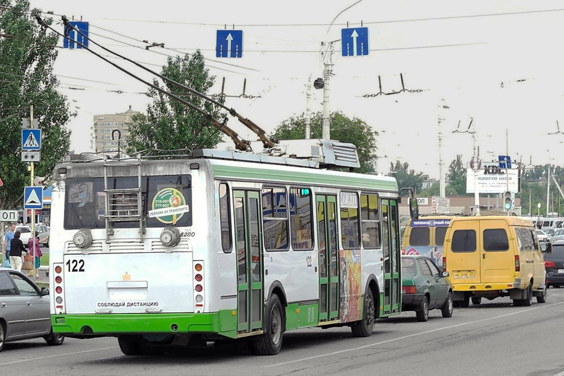 Астрахань. ЛиАЗ-5280 №122