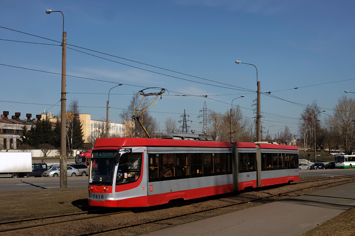 Санкт-Петербург. 71-631 (КТМ-31) №7418