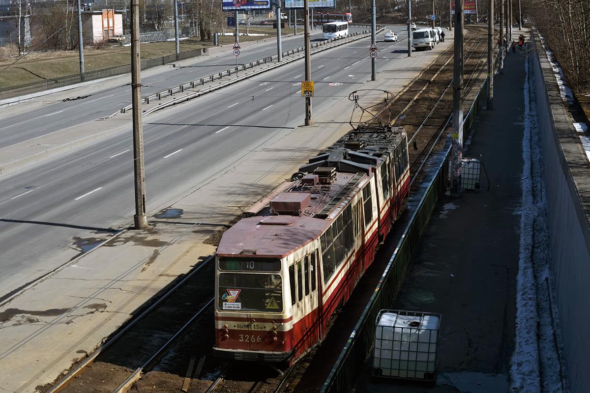 Санкт-Петербург. ЛВС-86Т №3266