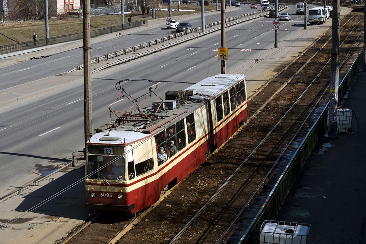 Санкт-Петербург. ЛВС-86К №3096