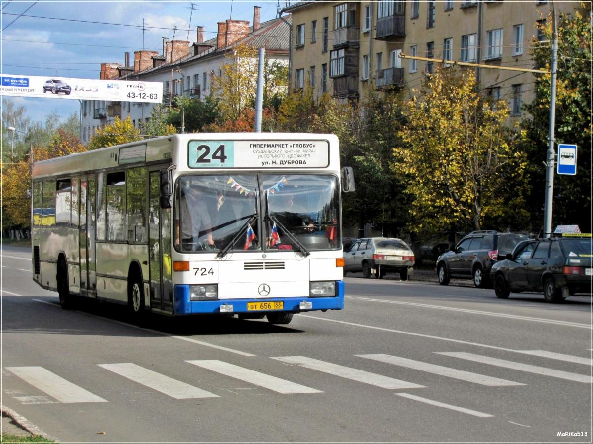 Владимир. Mercedes O405N вт656