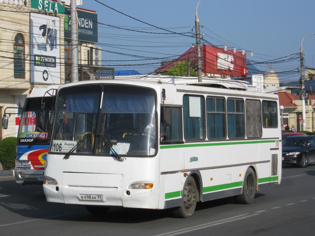 Анапа. ПАЗ-4230-03 в498ак