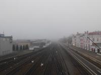 Калуга. Станция Калуга-1, вид в сторону Алексина, Тулы