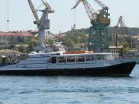 Севастополь. Пассажирский теплоход Радуга-9