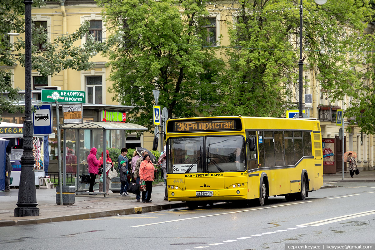 Санкт-Петербург. МАЗ-103.485 в666рр