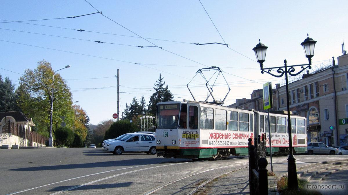 Пятигорск. Tatra KT4SU №124