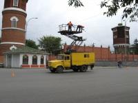 Курган. Автоподъёмник для ремонта контактной сети АП-7МП на шасси ЗиЛ-433362 (а071ве 45)
