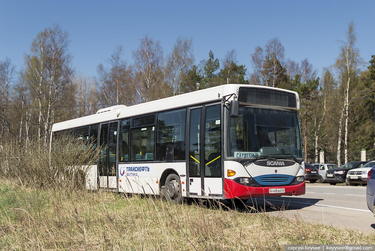 Санкт-Петербург. Scania OmniLink CL94UB а468вн