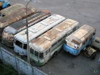 Москва. ЛиАЗ-677М с564мх, ЛиАЗ-677М р513кх, АСЧ-03 х994ео