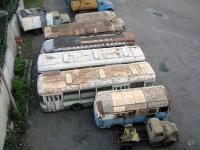 Москва. КАвЗ-685 (б/н), Škoda 706 RTO (б/н), Ikarus 620 (б/н), ЛиАЗ-677М с564мх, ЛиАЗ-677М р513кх, АСЧ-03 х994ео