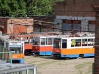 Таганрог. 71-605 (КТМ-5) №317, 71-608К (КТМ-8) №322, 71-608К (КТМ-8) №346