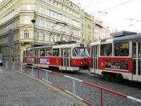 Прага. Tatra T3 №8009