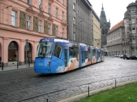 Прага. Škoda 14T №9153