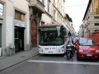 Флоренция. BredaMenarinibus Vivacity+ C CNG Exobus DR 720FA