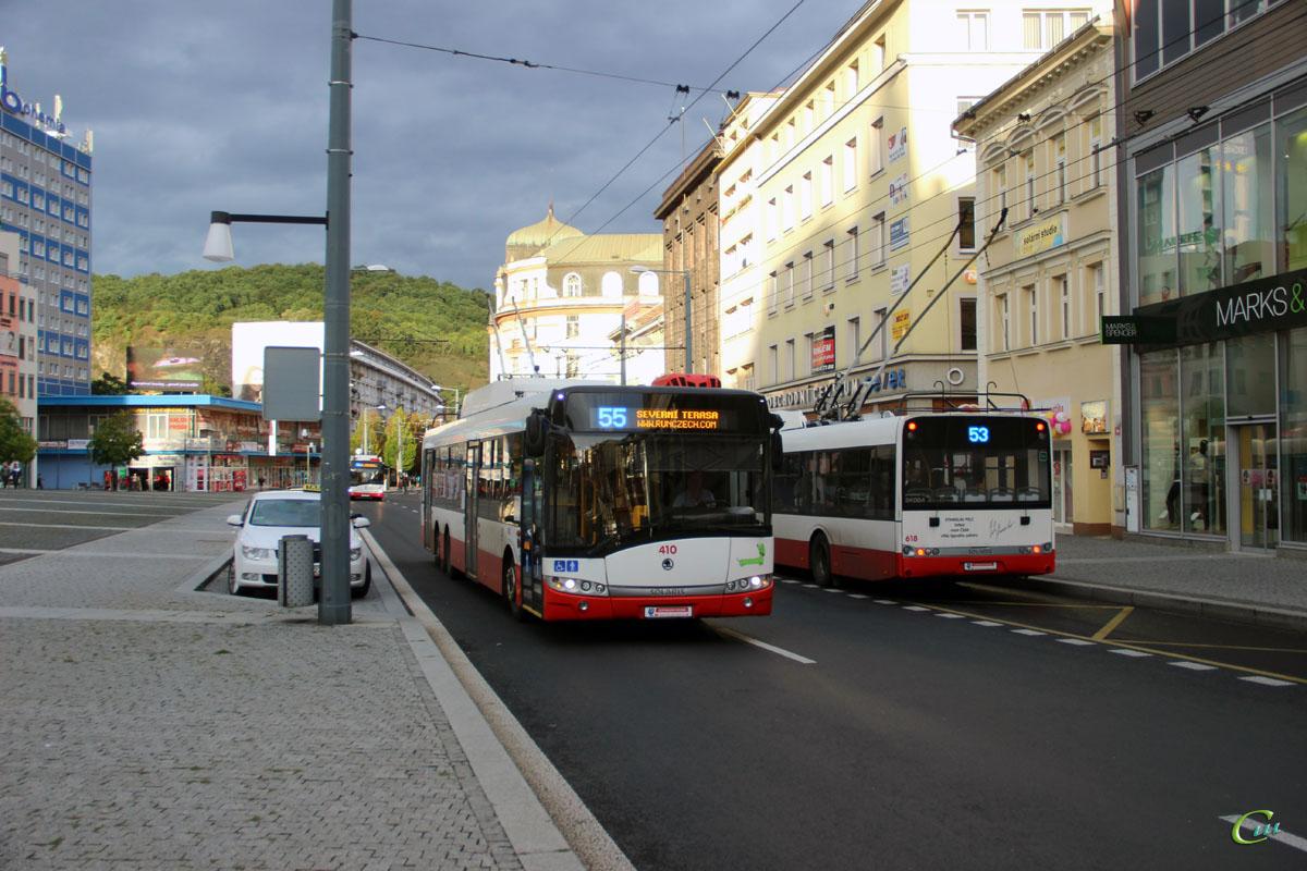 Усти-над-Лабем. Škoda 28Tr Solaris №410