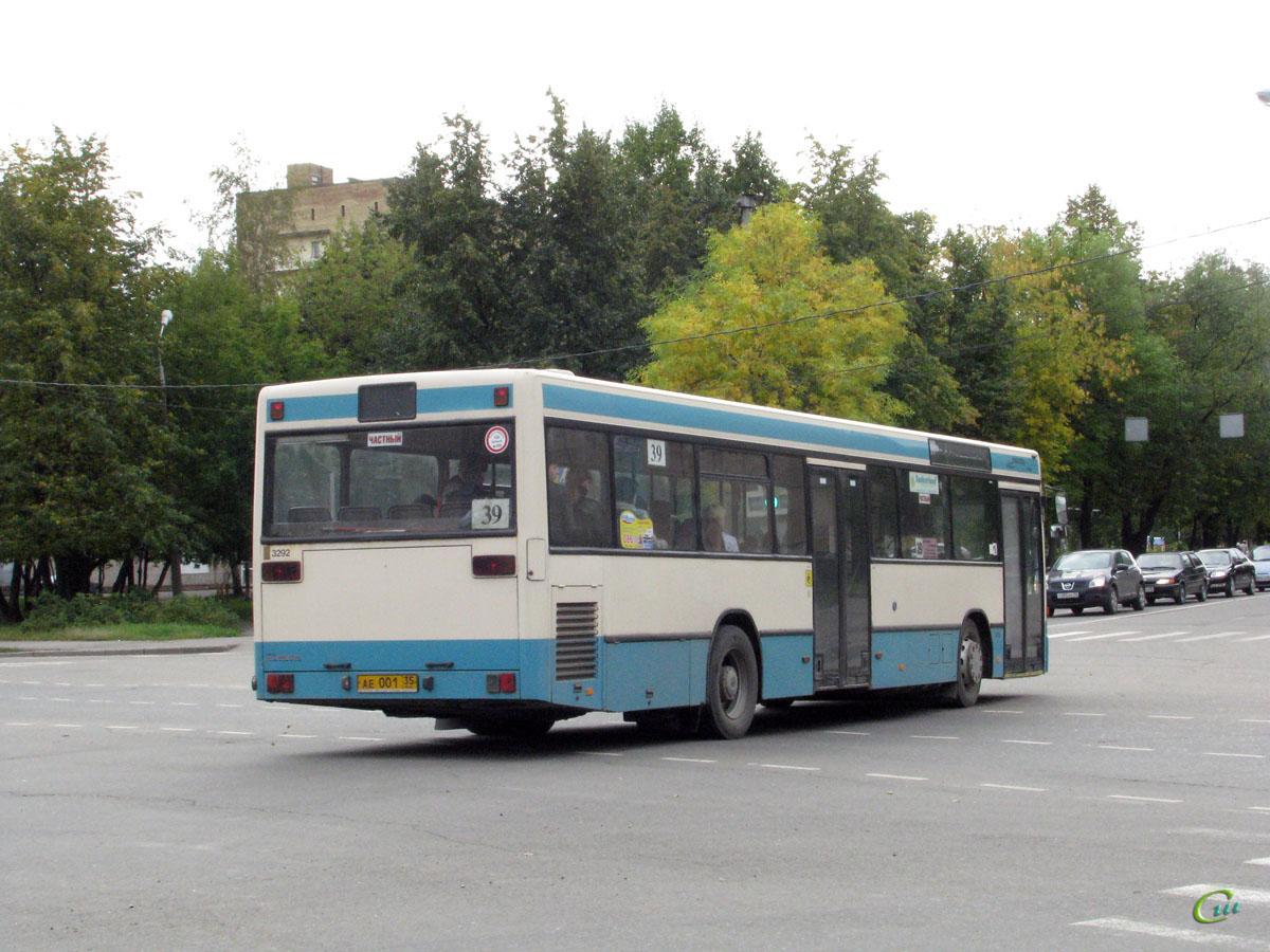 Череповец. Mercedes O405N ае001
