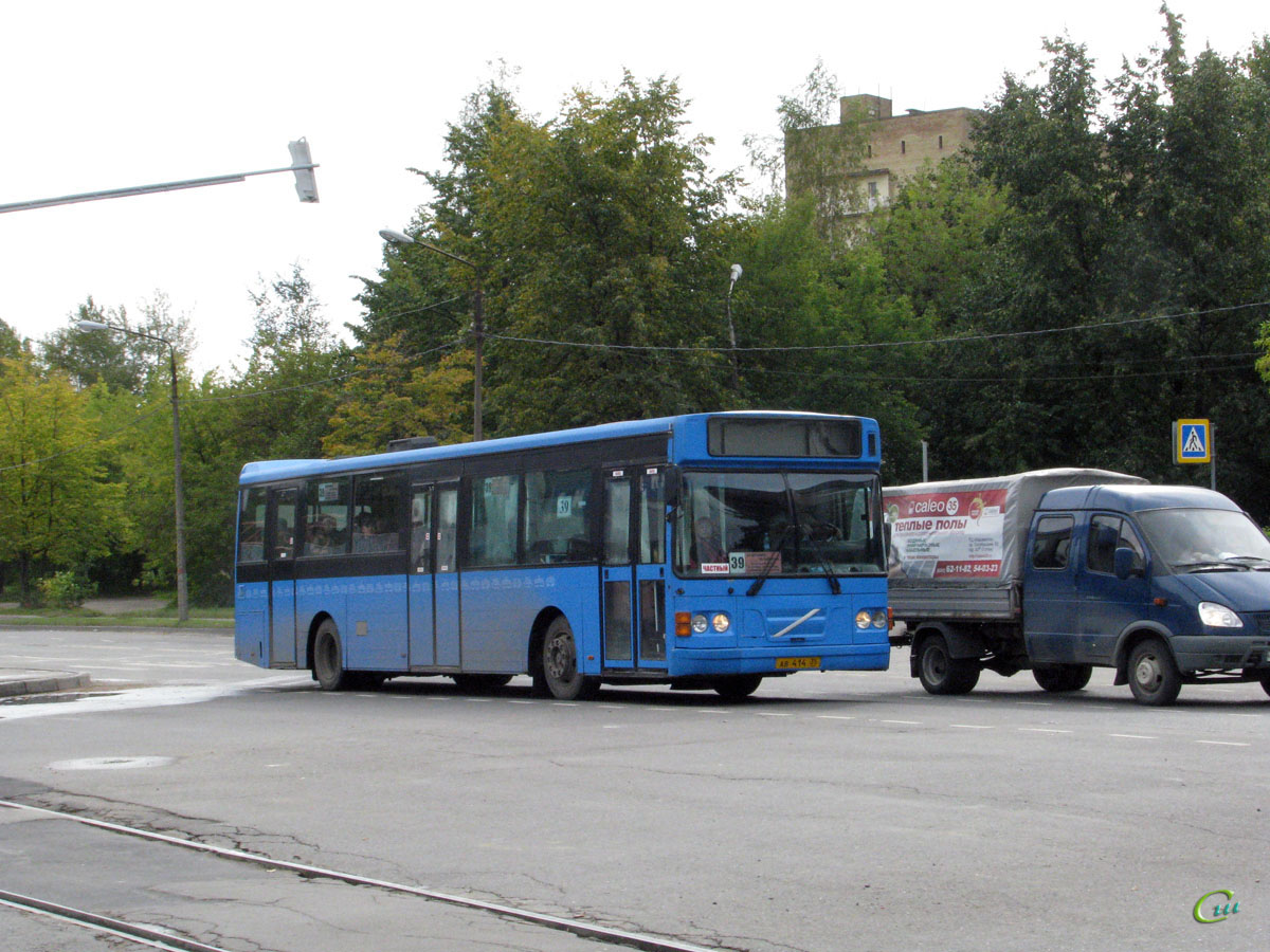 Череповец. Säffle 2000 (Volvo B10BLE-36) ав414