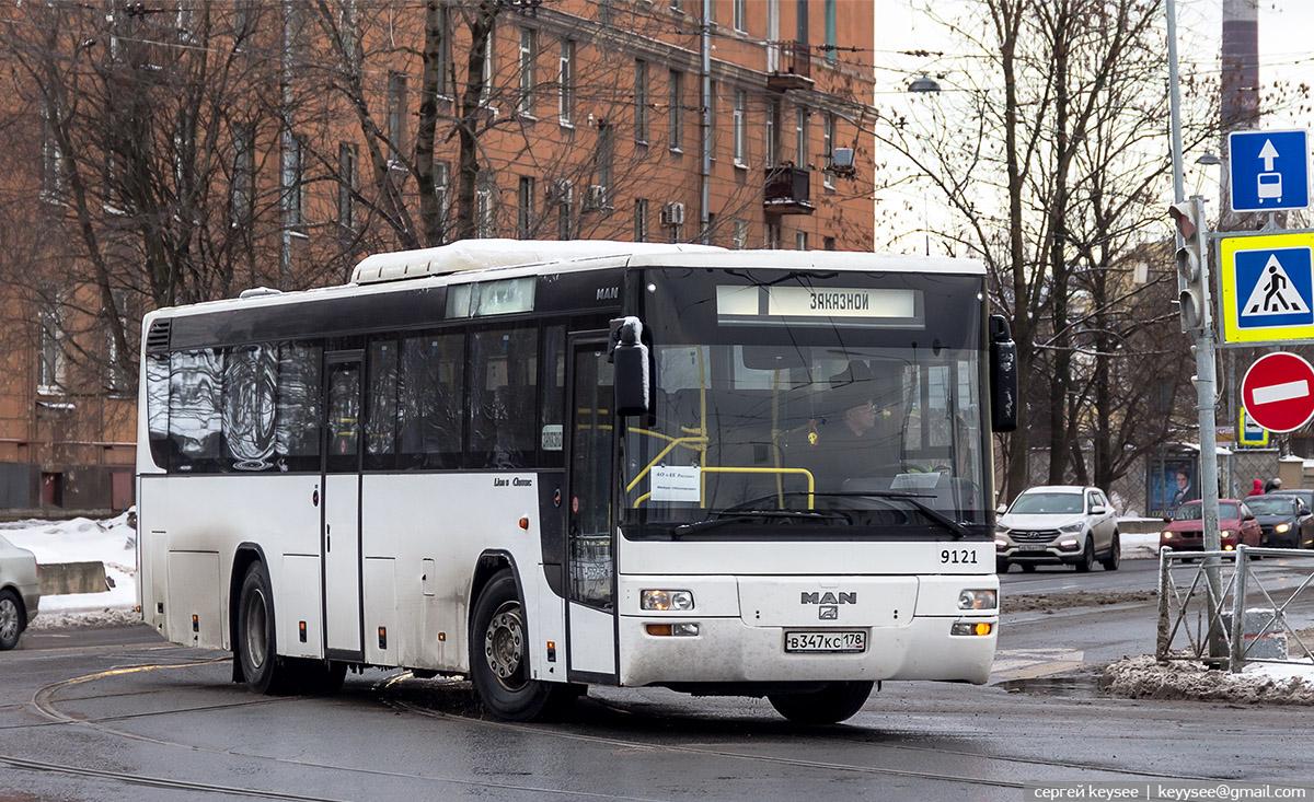 Санкт-Петербург. MAN A72 Lion's Classic в347кс