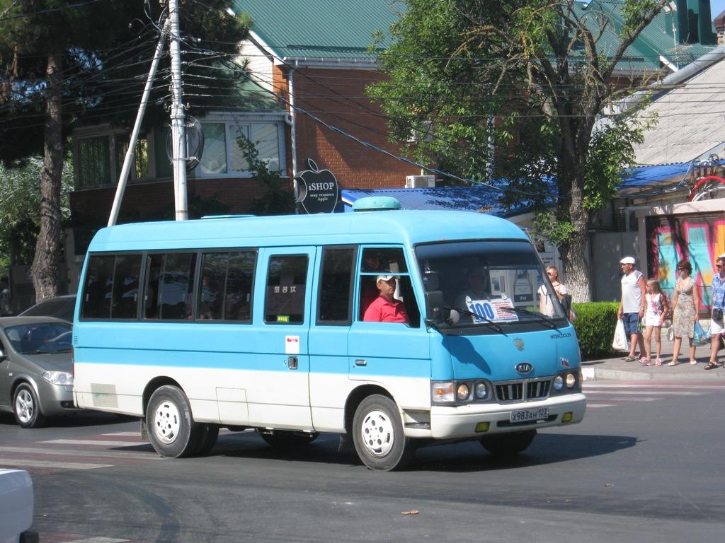 Анапа. Kia Combi х983ан