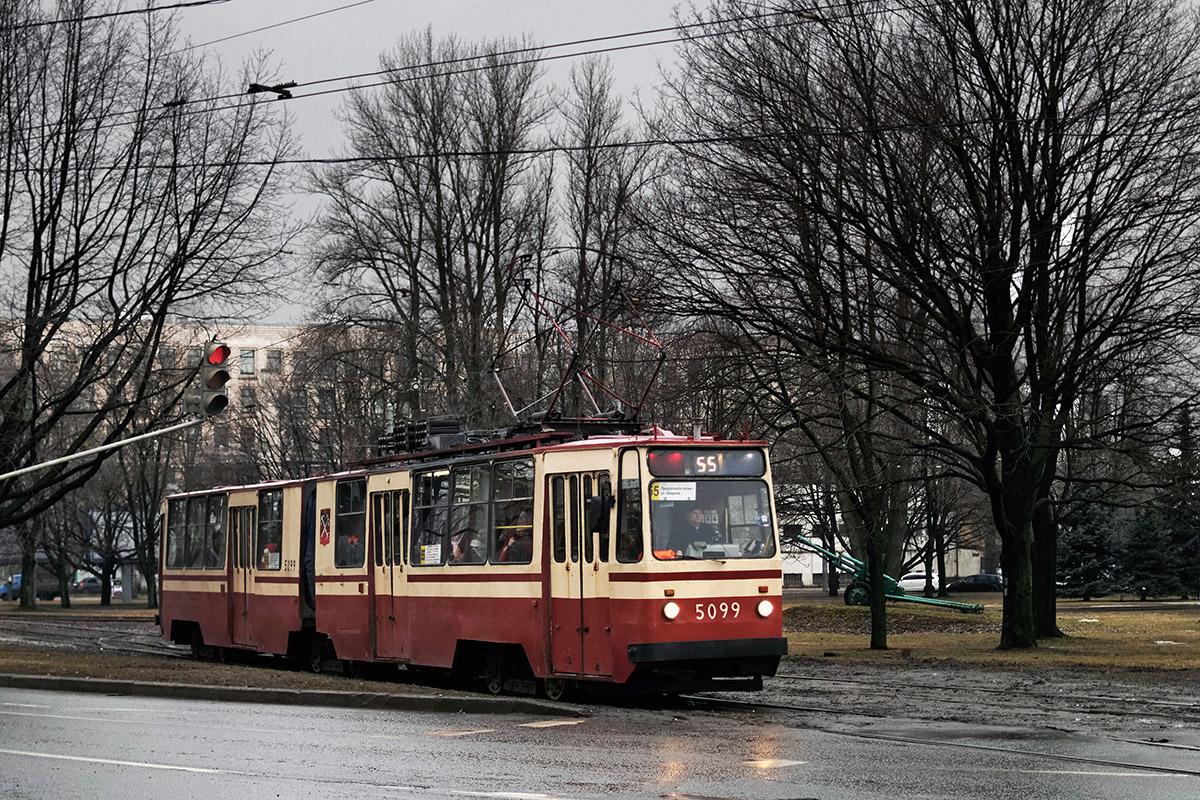 Санкт-Петербург. ЛВС-86К №5099