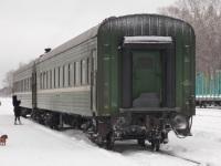 Осташков. Вагоны пригородного поезда Бологое - Осташков - Великие Луки