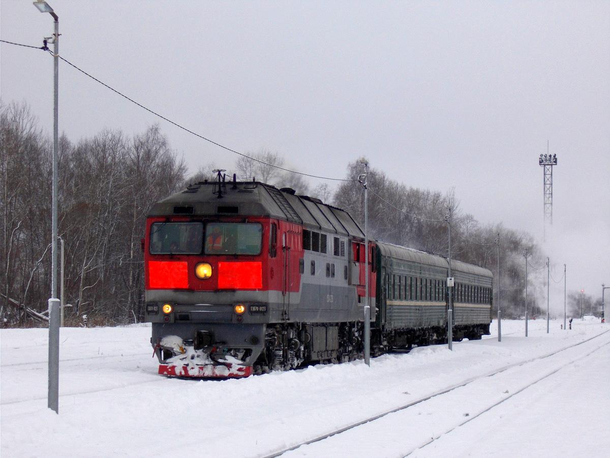 Осташков. ТЭП70-0123
