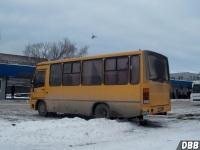 Курган. ПАЗ-320302-08 н596ма