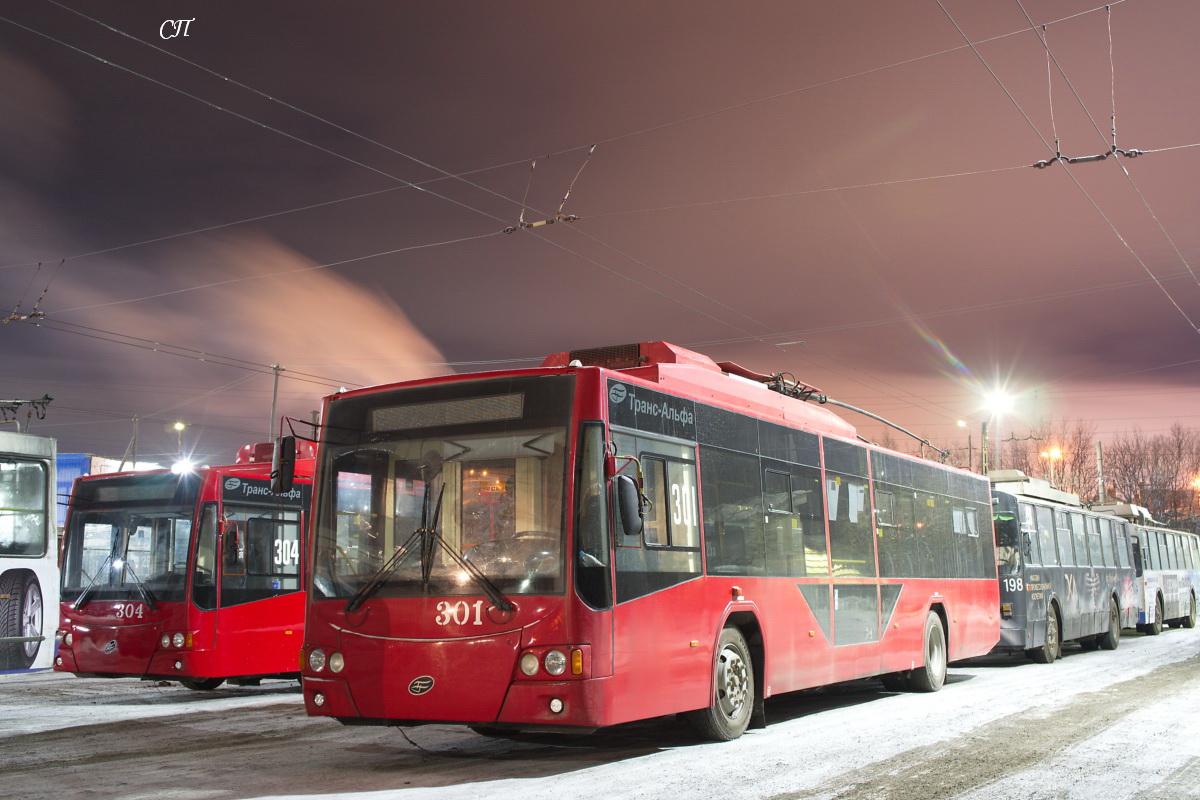Мурманск. ВМЗ-5298.01 №301, ВМЗ-5298.01 №304