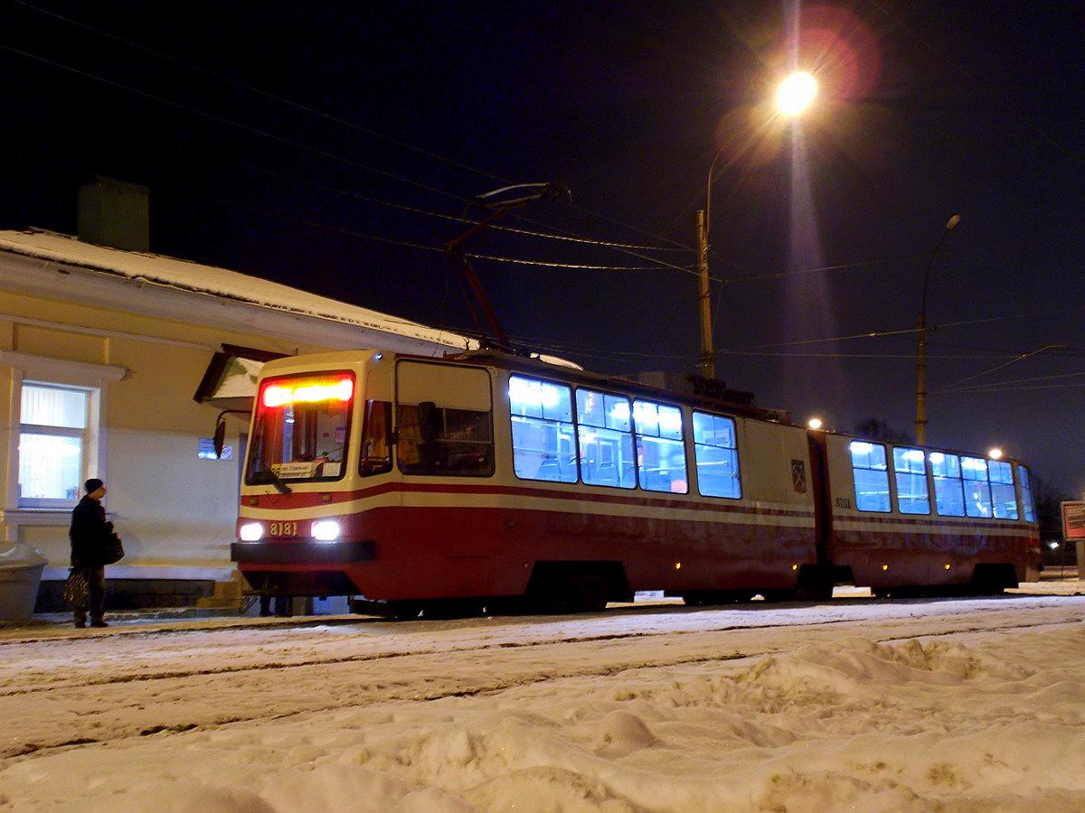 Санкт-Петербург. ЛВС-86К №8181