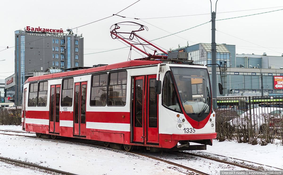 Санкт-Петербург. 71-134А (ЛМ-99АВН) №1335