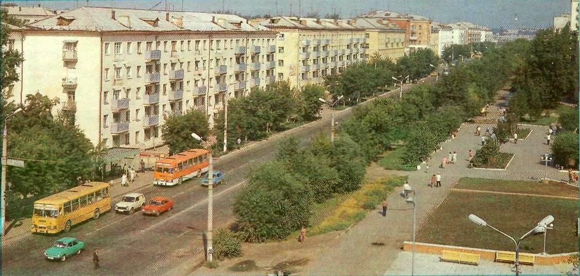 Курган. Автобусы ЛиАЗ-677М