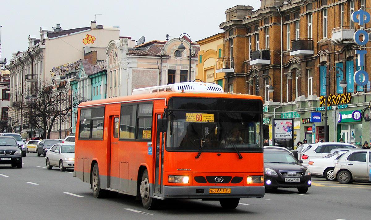 Владивосток. Daewoo BS106 во681