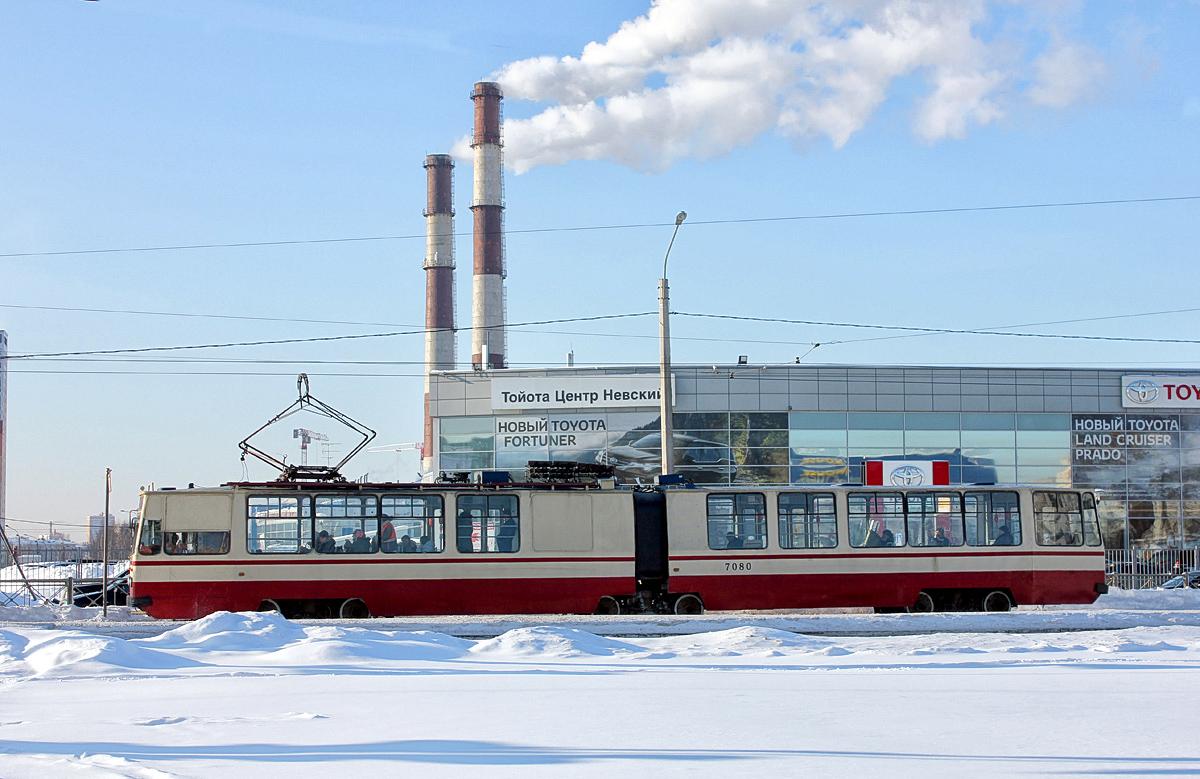 Санкт-Петербург. ЛВС-86К №7080