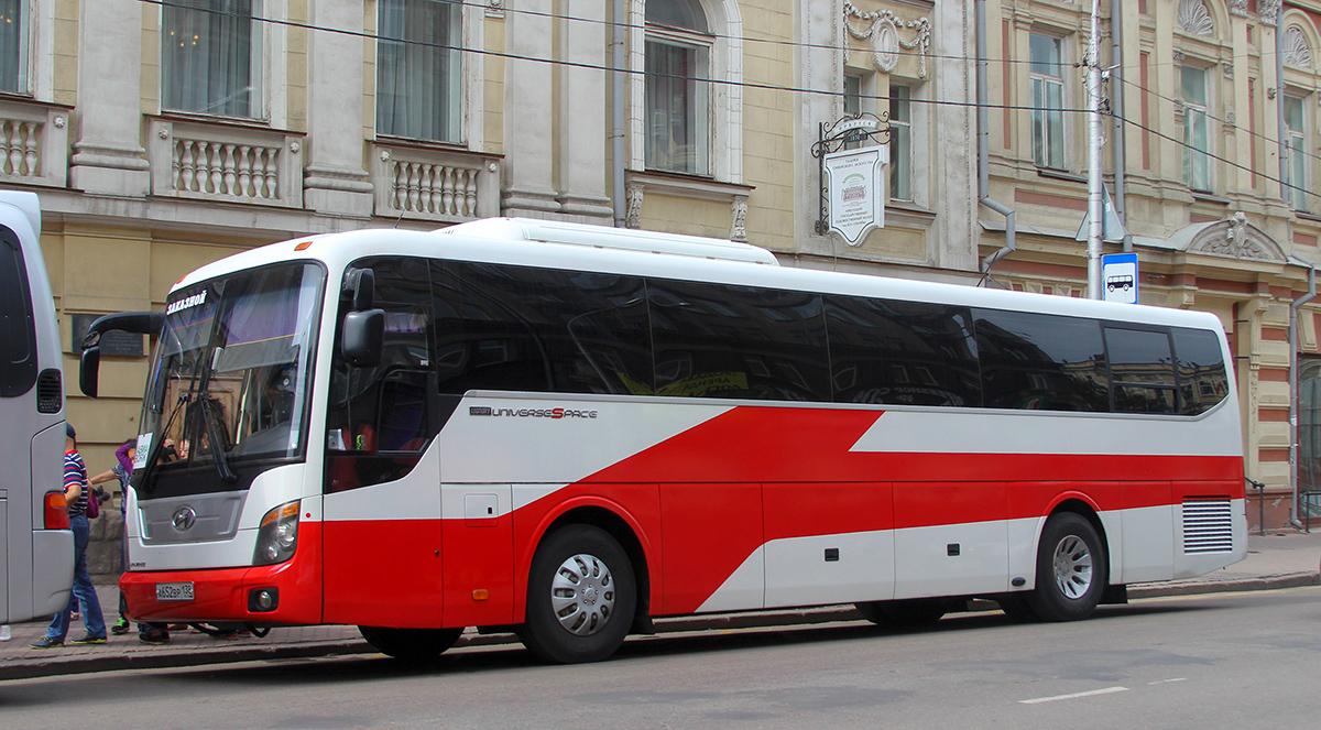 Иркутск. Hyundai Universe Space Luxury а652вр