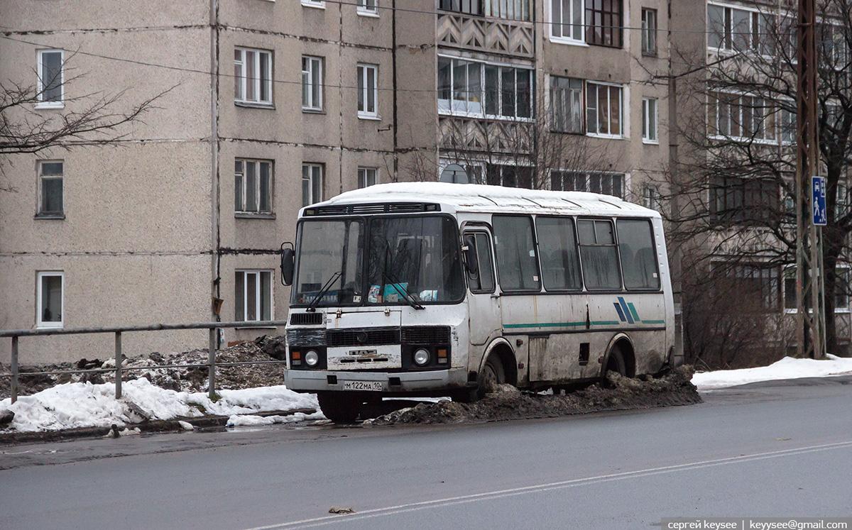 Петрозаводск. ПАЗ-32054 м122ма
