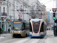 Москва. 71-931М №31163, 71-619А (КТМ-19А) №4057
