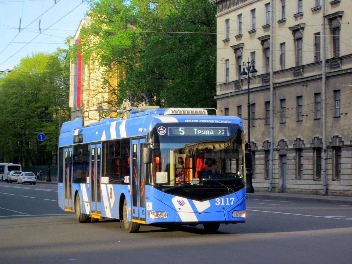 Санкт-Петербург. АКСМ-32100D №3117