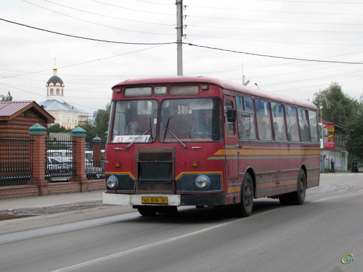 Арзамас. ЛиАЗ-677М ао816