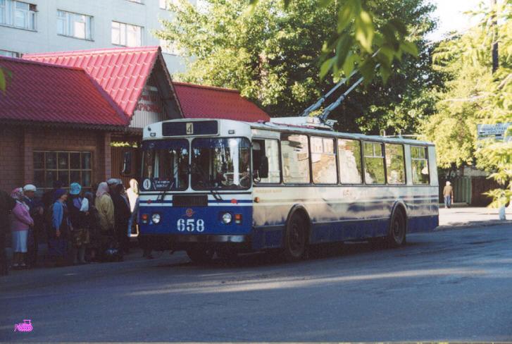 Курган. ЗиУ-682Г-018 (ЗиУ-682Г0Р) №658