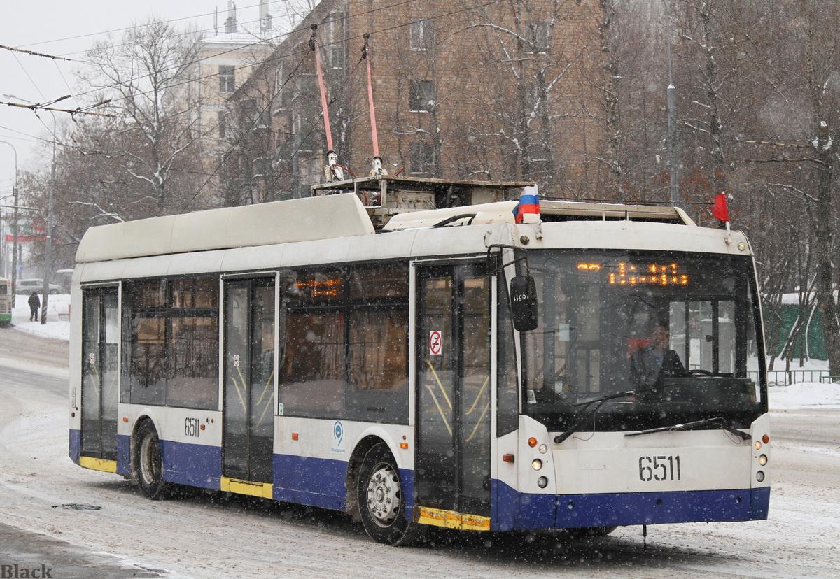 Москва. ТролЗа-5265.00 №6511