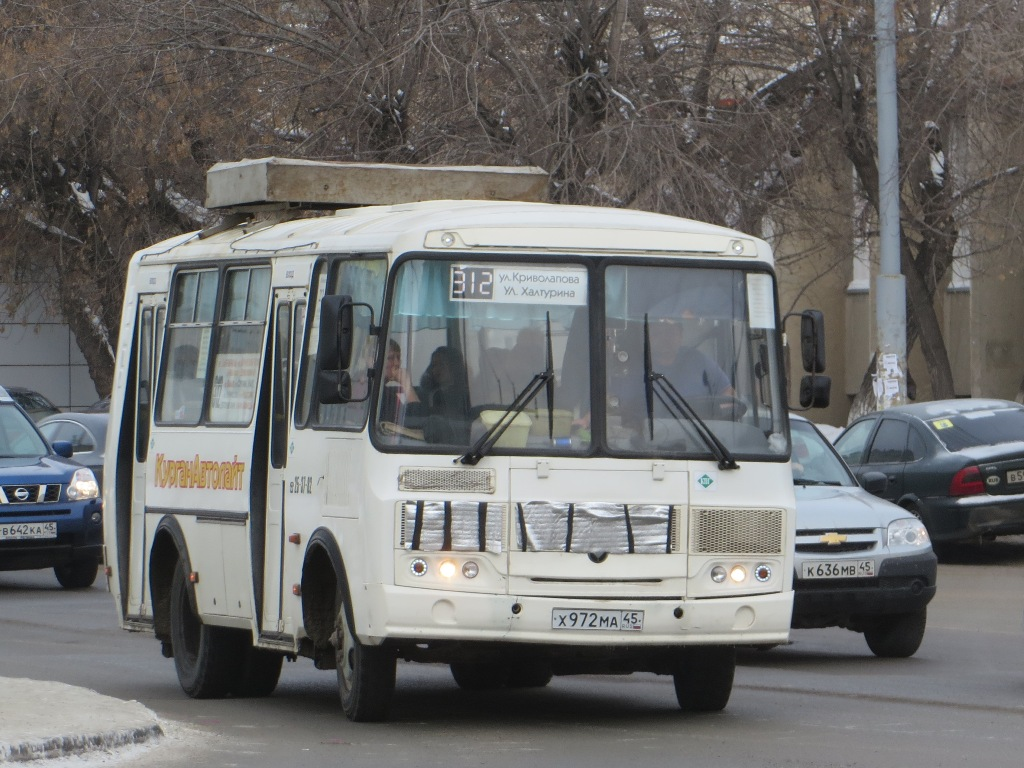 Курган. ПАЗ-32054 х972ма