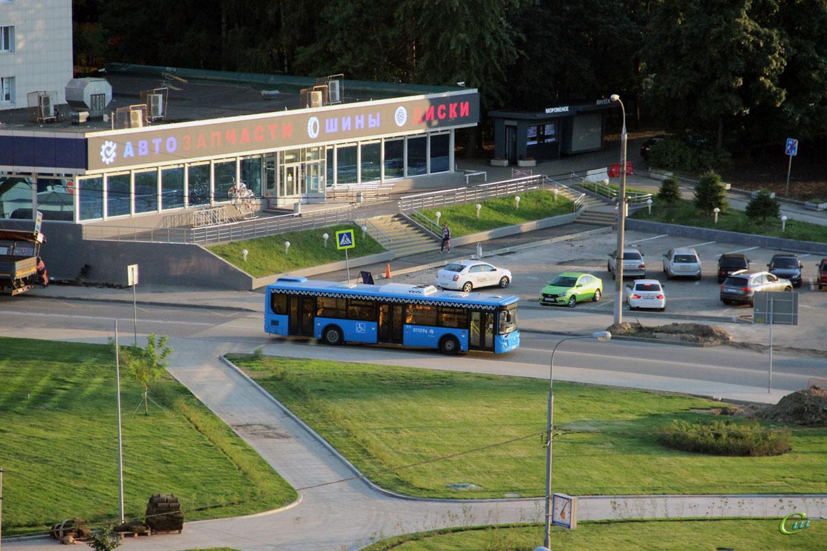 Москва. ЛиАЗ-5292.65 р990со