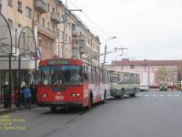 Курган. ЛиАЗ-677М н657ав, ЗиУ-682Г-018 (ЗиУ-682Г0Р) №660