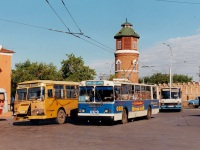 Курган. Ikarus 260 (280) т549вв, ЛиАЗ-677М 4872КНО, ЗиУ-682Г-012 (ЗиУ-682Г0А) №663