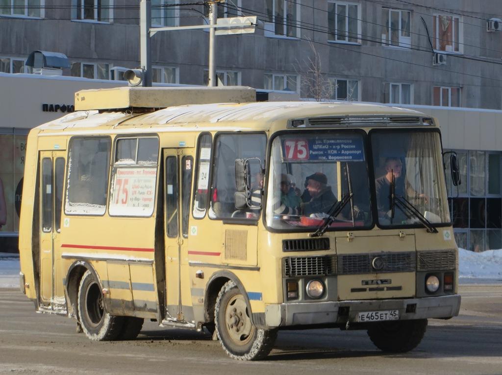Курган. ПАЗ-32054 е465ет